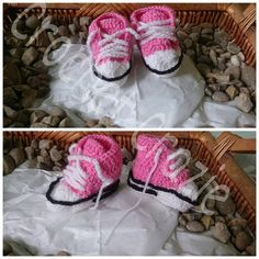 baby converse by crochetcraziehand on Etsy