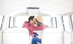 Gorgeous real Irish engagement shoot in a 1966 VW bus