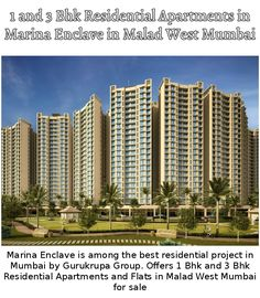 13 Gurukrupa Marina Enclave Ideas Enclave Marina Apartments For Sale