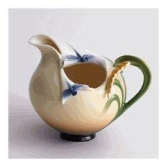 Franz Porcelain Dragonfly creamer/pitcher $66.95