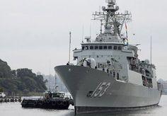 Royal Australian Navy frigate HMAS Stuart.
