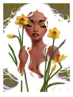 Daffodils by thienbao on DeviantArt