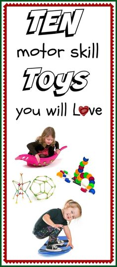 10 Motor Skill Toys you will LOVE