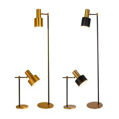 Cheap floor light, Buy Quality floor lamp directly from China nordic floor lamp Suppliers: Modern Minimalist nordic Floor Lamp table light Toolery desk Lamp Living room Reading Iron black gold lampshade Floor light
