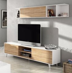 modular mueble lcd -mesa para tv- vajillero- rack led