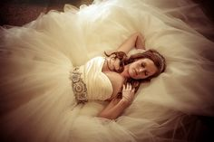 Normally not into poof, plus I could probably never afford Lazaro Bridal Gown - LZ3108, but I want to try this on!