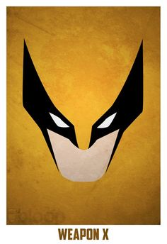 Minimalist Superhero Posters /// Wolverine - Visit to grab an amazing super hero shirt now on sale! Marvel Wolverine, Marvel Comics, Heros Comics, Marvel Vs, Marvel Heroes, Wolverine Cartoon, Wolverine Poster, Comic Book Characters, Comic Character