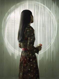 Available for sale from Flatland Gallery, Erwin Olaf, Shanghai, 120 × 90 cm Erwin Olaf, Shanghai, Artsy, High Neck Dress, Gallery, Photography, Collection, Dresses, Dutch