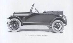 1917 Dort 5-passenger Touring Car