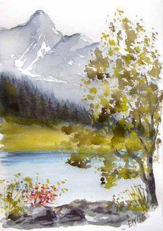 Les 11 meilleures images du tableau Aquarelles d'Annecy, le lac, la vieille ville sur Pinterest