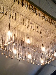 Lighting is a form of decoration. Chandeliers, candles and lamps are mostly used during special events.