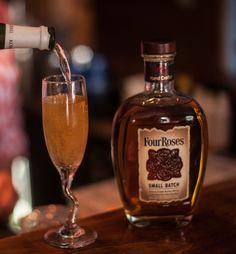 A little bourbon at the Blue Star