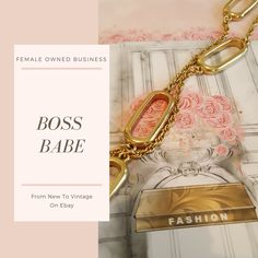 This posh necklace will make any work outfit feel complete.  The long oval links make this piece trendy and professional.  #Femaleownedbusiness#newyorkfashionweek #fashion#chic #bossbabe #Jcrew #fashionblogger  #classic #timeless #forsale #ebay #aesthetic #femaleentrepreneur #shopping #shop #aesthetic #artistic #art #artform #beauty #jewelry
