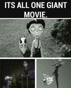 Frankenweenie, Corpse Bride, and The Nightmare Before Christmas- a ...