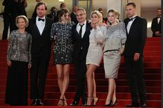 "Kristen Stewart Photos Photos - (FromL) German actor Lars Eidinger, French actress Sigrid Bouaziz, French director Olivier Assayas, US actress Kristen Stewart, Austrian actress Nora von Waldstatten and Norwegian actor Anders Danielsen Lie pose with the President of the CNC Frederique Bredin .as they arrive on May 17, 2016 for the screening of the film ""Personal Shopper"" at the 69th Cannes Film Festival in Cannes, southern France. . / AFP / Valery HACHE - 'Personal Shopper' - Red Carpet…"