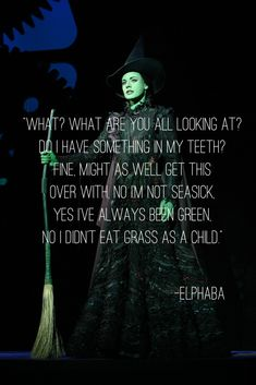 One of my favorite lines from my favorite Broadway musical I've never seen live.