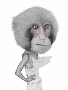 Los divertidos y cabezones personajes dibujados por la ilustradora Helena Frank.              — HELENA FRANK