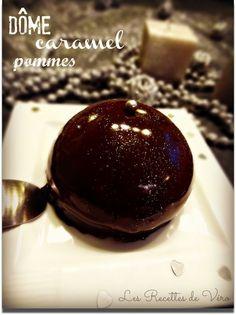 Dôme caramel chocolat