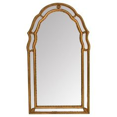 Check out this item at One Kings Lane! Gilded Mirror by Andrew Kolb & Son