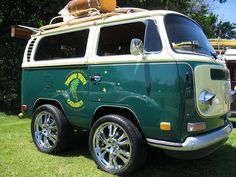 Short VW bus