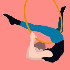 """ @""Ananda Culebras custom illustration on Instagram: "" Inspired by cs_angie "". #drawing #draw #ilustracion #dibujo #procreate #procreateillustration #procreatedrawing #procreateart #ilustración #ilustraciondigital #digitalart #digitaldrawing #digitalillustration #digitalpainting #sport #sportlife #sportlifestyle #sportlover #aro #aroaereo #aroaéreo #acrobatics #acrobacia #acrobaciaaerea #trapecista #trapecist #flexibility #flexibilidad  #elegance #elegancia"