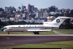VARIG B-727-100 freighter, credit to the author.