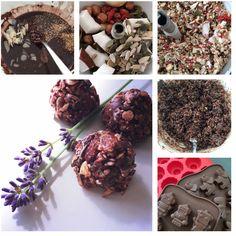 Rauwe lavendel chocolaatjes met noten en zaden ±25stuks - Diëtist Eline Zuiderwijk, diëtist en voedingsdeskundige in Leidschendam-Voorburg en Dordrecht