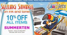 4inkjets coupon code 20%, before check out online purchase, use 4inkjets promo codes to obtain online discounts up to 20% off extra. The principal mission for the business and profits of 4inkjets is hiking the discounts and savings with 4inkjets coupon codes on all handy products for the year march 2015.