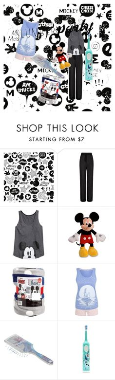 """Disney slumber party"" by galindathegood ❤ liked on Polyvore featuring York Wallcoverings, Agent Provocateur, Disney, George, disney, sleepover and slumberparty"