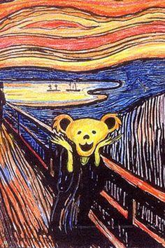 Grateful Dead Bear- The Scream