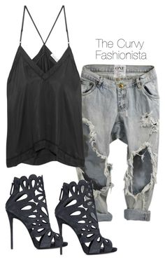"""Untitled #327"" by thecurvyfashionista ❤ liked on Polyvore featuring Étoile Isabel Marant and Giuseppe Zanotti"