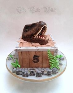 T-Rex by Nessie - The Cake Witch