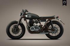Kawasaki KZ400 by La Corona Motorcycles ~ Return of the Cafe Racers