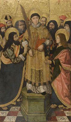 Saint Stephen's Glorification   Museu Nacional d'Art de Catalunya