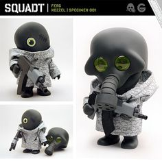 Jamundo's Squadt | toy by Scott Wetterschneider, via Flickr