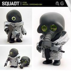 Jamundo's Squadt | toy by Scott Wetterschneider, via Flickr
