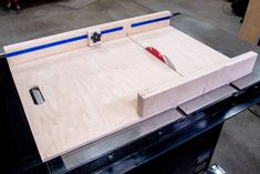 How to Make a Table Saw Sled