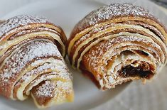 Home - Domaci Recept Kiflice Recipe, Bread Recipes, Cooking Recipes, Serbian Recipes, Sweet Bread, Macaroons, Scones, Berries, Muffin