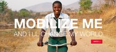 all I want for Christmas... bring mobility to the third world with World Bicycle Relief