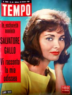 U.S. model and movie actress Cindi Wood (real name: Moira Macneill) (28th October 1961).
