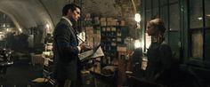 Still of Henry Cavill and Alicia Vikander in The Man from U.N.C.L.E. (2015)