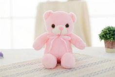 Luminous Creative Light Up LED Teddy Bear Stuffed Animal Plush Toy Colorful Glowing Teddy Bear Christmas Gift for KidFilling: PP CottonHeight: Animals & NatureFiller: PP cottonUnit Type: pieceUsage: LED teddy bearFeatures: Glow in the Dark, Soft, Interact Best Gifts For Girls, Christmas Gifts For Kids, Pet Toys, Beer, Teddy Bears, 3 Years, Products, Going Crazy, Arm