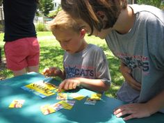 Minute to Win it Games for kids (and adults).