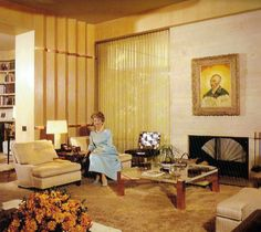 Edie Goetz home - interior by Billy Haines