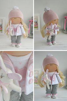 Muñeca hecha a mano Tilda muñeca Interior por AnnKirillartPlace                                                                                                                                                                                 Más