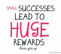 Successes-rewards
