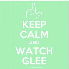 How can we keep calm!? GLEE:)