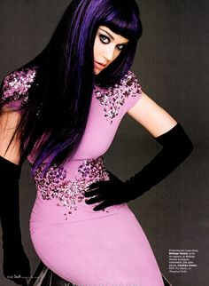 Katy Perry by Carter Smith for Elle US September 2012