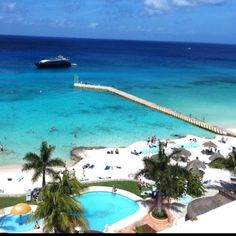 El Cozumeleno Beach Resort in Cozumel, Mexico... Love this place!