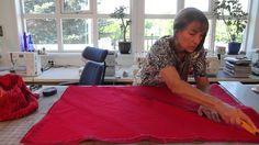 Quilt og lappeteknikk: Badematte i frotteteknikk Rag Quilt, Quilts, Free Pattern, Sew Simple, Furniture, Patterns, Home Decor, Bathing, Block Prints